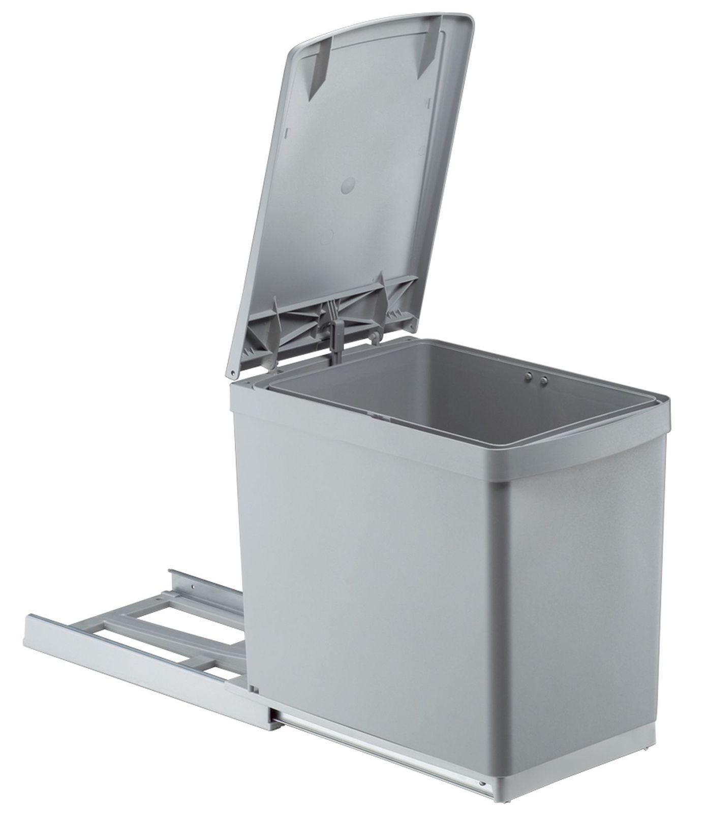 Wesco Küchen Abfall Mülleimer 1 x 16 Liter Vollauszug ab 30 cm ...
