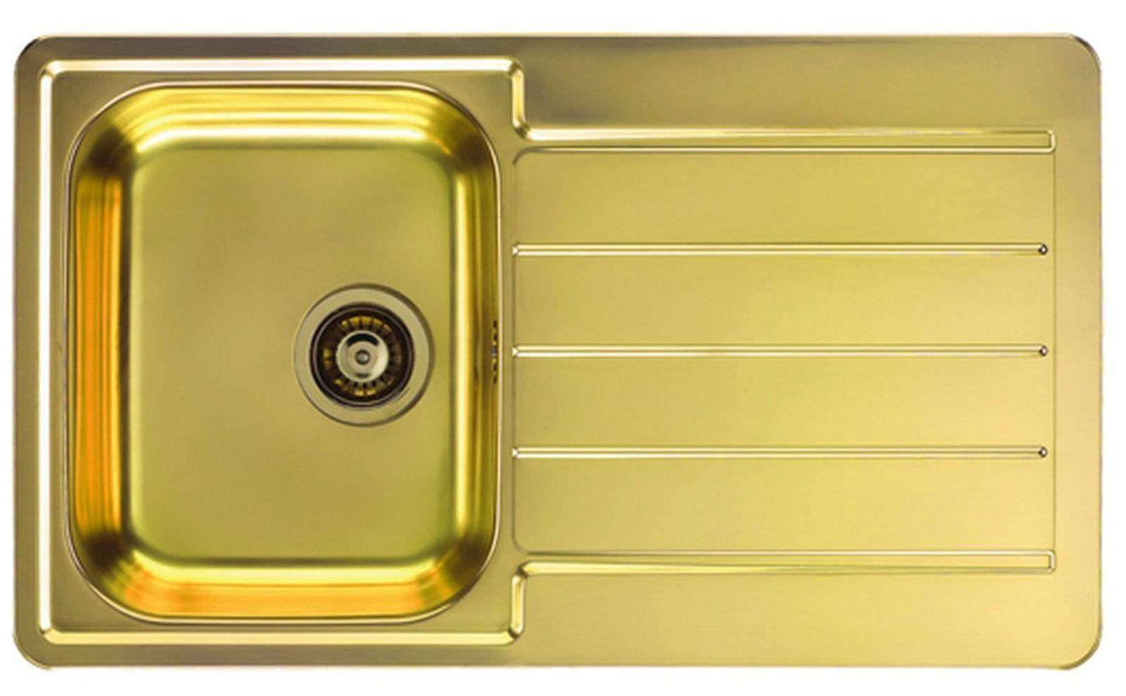 Alveus Einbau Küchenspüle Line 20 Spülbecken Kupfer, Anthrazit, Gold ...