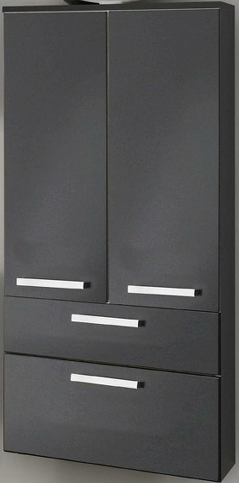 bad hochschrank 131 x 60 x 32 cm midischrank badm bel badschrank hs ram breit kaufen bei. Black Bedroom Furniture Sets. Home Design Ideas