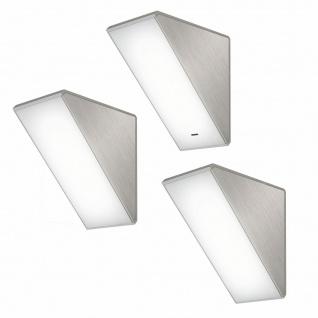 LED Unterbauleuchte Küche 3x4 W Unterbaulampe Helligkeit regelbar Dimmer *571437