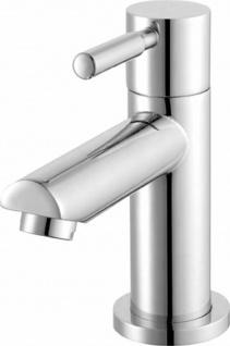 Kaltwasser Armatur Gäste Bad WC Standventil Wasserhahn TAGOS Messing Chrom *0612
