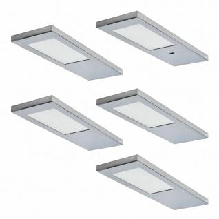 LED Unterbauleuchte Küche 5 x 3, 5 W Unterbaulampe Ella mit Sensor Dimmer *571550
