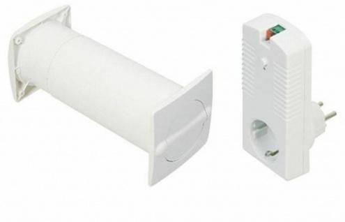 Elektronischer Mauerkasten Aeroboy Ø 100 mm Abluft Dunstabzug Abzugshaube 526109