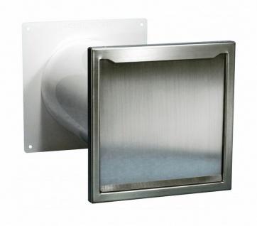 Energiespar Mauerkasten Dunstabzug Ø 125mm Aussengitter Abluft Thermozone *50491