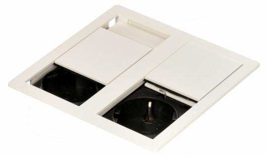 Bachmann IP 54 Küchen Einbau-Steckdose 3400 W Doppelsteckdose VersaHIT *571109