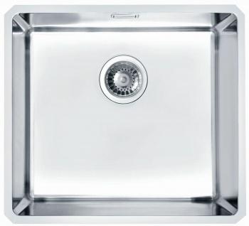 Unterbaubecken große Küchenspüle Edelstahl 48, 8 cm Unterbauspüle Becken *1102698