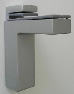 Regalboden Halterung Halter 8-50 mm chrom matt Regalbodenträger silber *506-08