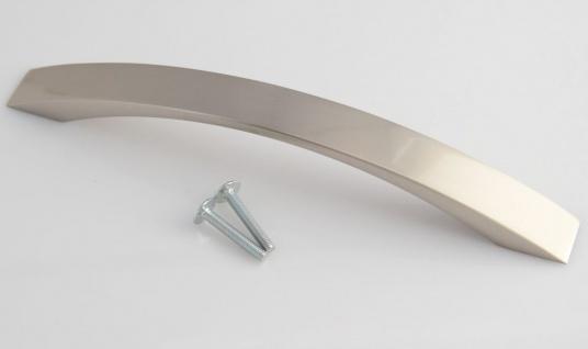 Kommoden Möbelgriff BA 160 mm Schrank Tür Bogen Küchengriff Edelstahloptik *644