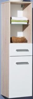 3 tlg Badset Waschtisch 100 cm LED Spiegelschrank Waschplatz Hochschrank ZO-3007 - Vorschau 4