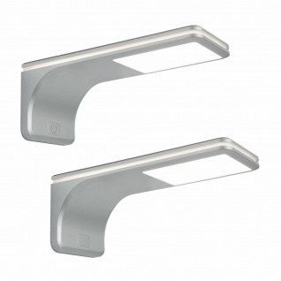 LED Unterbauleuchte Küche 2x3, 5 W Unterbaulampe neutralweiß Touch-Dimmer *564019