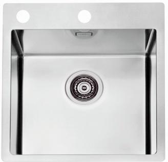 Alveus Küchenspüle Einbauspüle Edelstahl Becken Spüle 465x525 mm Pure20 *1103608