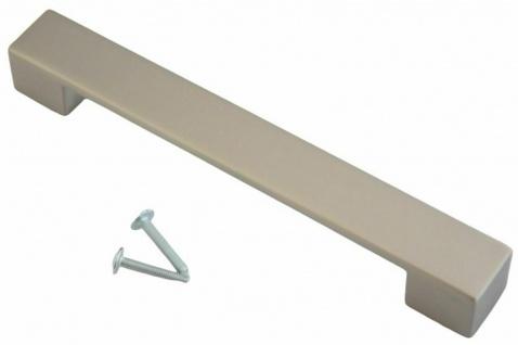 Möbelgriffe BA 128 mm Schrankgriffe Edelstahloptik Küchengriffe Türgriff *625-07