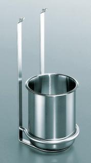Besteck Koch Köcher Halter Edelstahloptik Relingsystem Linero 2000 Küche *521463