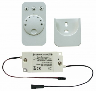 Fernbedienung 30 W, Dimmer für LED Leuchten Serie Emotion, Wandhalterung *543342