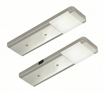 LED Unterbauleuchte Küche 2x2, 5 W Unterbaulampen Set Fjona neutralweiß *556366