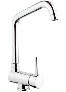 Küchenarmatur klappbar CARLO Unterfenster Montage Einhebel-/Einhandmischer *0504