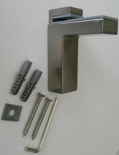 Regalbodenhalter Regalbodenträger 8-50 mm Edelstahl Optik Regalhalter *506-07 - Vorschau 2