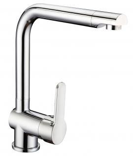 Spültisch Küchenarmatur DELTA Auslauf schwenkbar Wasserhahn Einhandmischer *0514