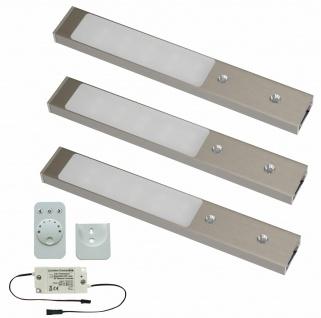 LED Unterbauleuchte Rettangolo Emotion Lichtfarbe regelbar 3x3, 1 W Küchenleuchte