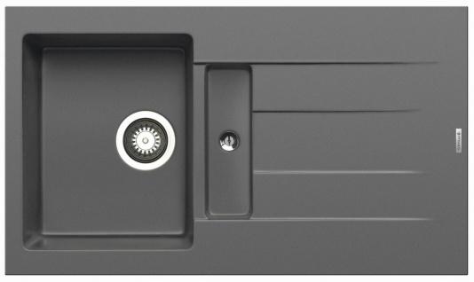 Pyramis Einbauspüle 86 cm moderne Küchenspüle Athlos Spülbecken grau *070038612