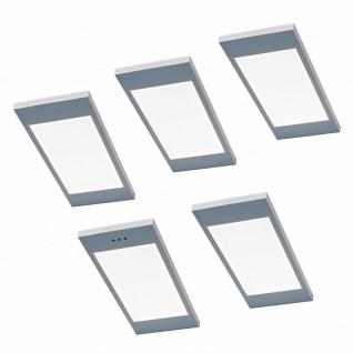 LED 5er Unterbauleuchte Küche 5 x 3, 5 W Unterbaulampe Santo mit Dimmer *567829
