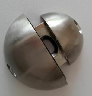 1 Glasbodenhalter Glasbodenträger 10 mm Glasboden Halterung Edelstahl Optik *507 - Vorschau 3