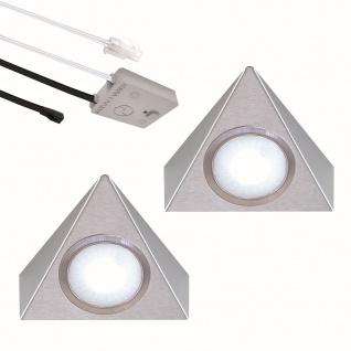 LED 2-er Set Küchen Unterbauleuchte PICCOLO 2, 7 W Lichtfarbe regelbar *552467