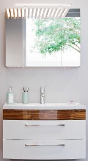 Waschplatz Rima 82 cm 2-teiliges Badmöbelset Badeinrichtung Waschtisch *8000066