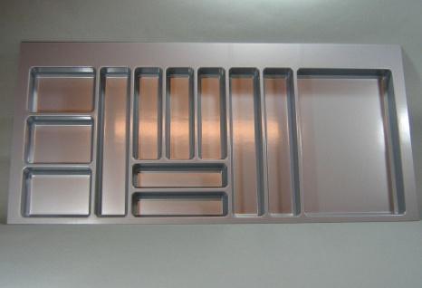 Schubladen Besteckeinsatz Teck 120 Cm Küchen Besteckkasten Zuschneidbar  *44578