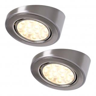 LED 2-er Set Schrägleuchte 2 x 3 W Küchen Unterbauleuchte Strahler Spot *552290