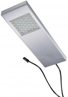 LED Edelstahl Ergänzungs Küchen Unterbauleuchte 1 x 3 W TADEO Warmweiss *542598