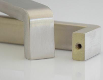 Möbelgriff Griffe Küche BA 160 - 320 mm Edelstahl Küchengriff Schrankgriff *1415 - Vorschau 4