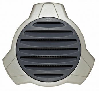 Design Abluft Außengitter Küchen Lüftungsgitter Ø 125 mm Rückstauklappe *576463
