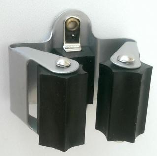 Besenhalter Wand Stielhalter Klemmhalter Besenhalterung Gerätehalter stabil *523