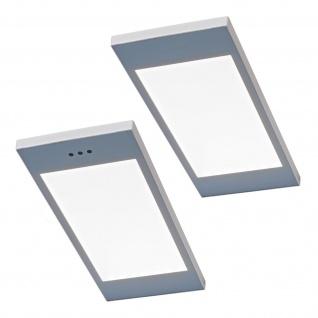 2-er Set LED Küchen Unterbauleuchte SANTO 3, 5 W dimmbar Warmweiss Licht *567799