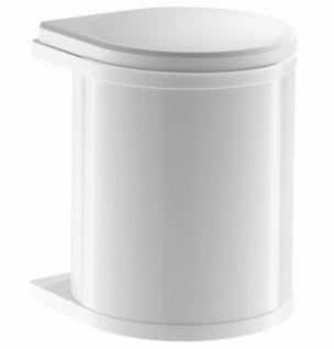 Hailo Mono 12 L Kosmetikeimer Mülleimer Küche Einbau ab 40 cm Schrank *515981