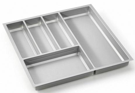 Besteckeinsatz 50-90 cm Besteckkasten für Hettich ArciTech Zarge Schublade *Move