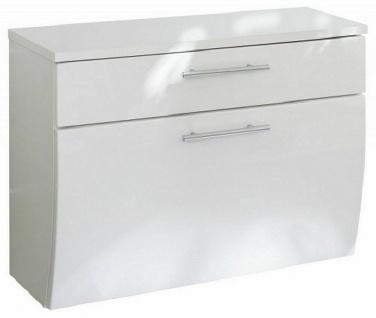 Gäste WC Waschbecken Bad Unterschrank 70 cm hängende Montage Badmöbel *5611