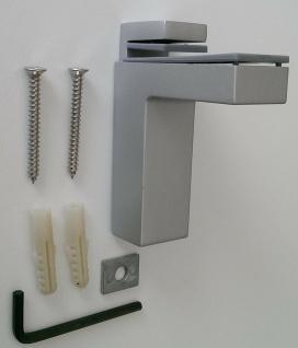 Regalbodenhalter 8-50 mm Regalbodenträger silber Regalhalter Bodenhalter *506-08 - Vorschau 2