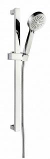 Duschset Duschstange 65 cm Brauseset Duschgarnitur modern Dusche Quadis *0802