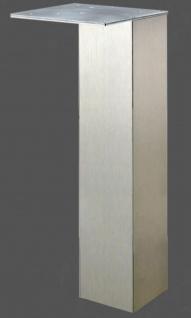 Tischbein 110 cm Metall Stützfuß 8x8 cm Tischfuß Möbelbein 200 Kg Wesco *47137