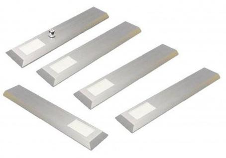 LED 5-er Set Edelstahl Küchen Unterbauleuchte MILANO 5 x 6 W dimmbar *30452