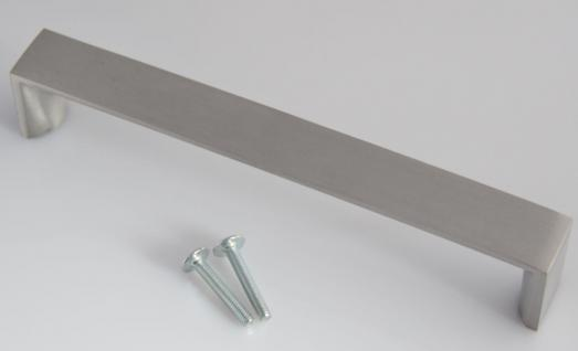 Schrank Küchengriff BA 160 mm Bügel Tür Kommoden Möbelgriff Edelstahloptik *624