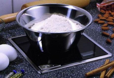 Einbau-/Küchenwaage Glas Edelstahl 210 x 210 mm Digitalanzeige max 5 kg *532575 - Vorschau 4