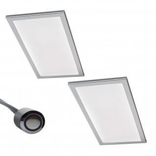 2-er Set LED Küchen Unterbauleuchte BASSO 2 x 6 W Warmweiss Dimmer Licht *567843