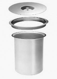 Wesco Ergomaster Bio-Eimer Alu Einbau Arbeitsplatte 5 Liter Komposteimer *514663