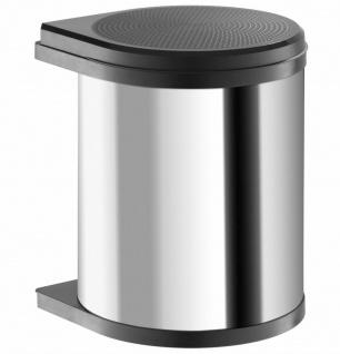 Hailo Mono Mülleimer Küche Kosmetikeimer 12 L Einbau ab 40 cm Schrank *515998