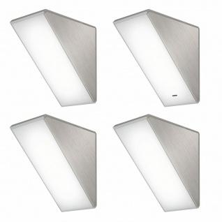 LED 4er Unterbauleuchte Küchenleuchte 4x4 W Unterbaulampe Key-45 Dimmer *571444