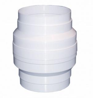 Kondenswassersammler Dunstabzug Ø 125 mm Rundrohr Abluft Lüftungsrohr *50131