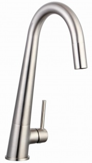 Küchenarmatur Pilo Armatur Spültischarmatur Einhebelmischer edelstahloptik *0586